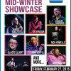 NEPA Scene hosts Mid-Winter Talent Showcase at The Woodlands in Wilkes-Barre on Feb. 27