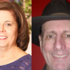 Authors Barbara J. Taylor and Christian W. Thiede offer experience and advice before Writers' Showcase in Scranton