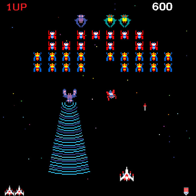 TURN TO CHANNEL 3: 'Galaga' Will Always Beam Gamers Into