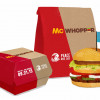 WILDLY FRUSTRATED: Not even Peace Day can bring Burger King and McDonald's together – but I will
