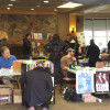 Scranton Radical Book Fair with free market and lectures held at Marywood in Scranton on April 9