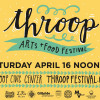 First-ever Throop Arts + Food Festival on April 16 includes 60 vendors and free kids' art classes