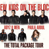 New Kids on the Block, Paula Abdul, and Boyz II Men play Philly on June 24 and Allentown on July 5