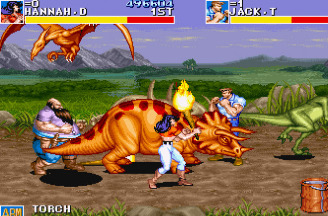 TURN TO CHANNEL 3: Capcom's 'Cadillacs and Dinosaurs' deserves ...