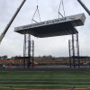 VIDEO: Hersheypark Stadium dismantles concert stage; new stage ready for Memorial Day weekend