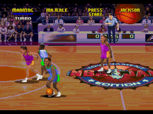 Turn To Channel 3 Nba Jam Tournament Edition Is A