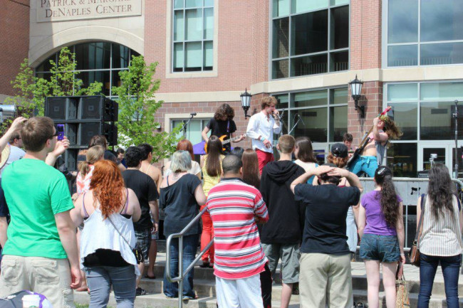 ARCHIVES: Scranton college band Eye on Attraction looking for progressive rock perfection – and fun