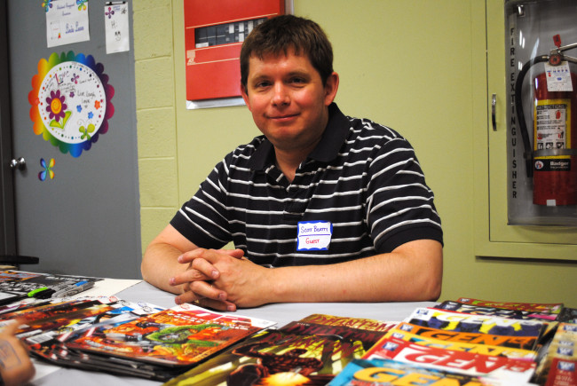 ARCHIVES: From Batman to Scranton – writer Scott Beatty celebrates Free Comic Book Day at Comics on the Green