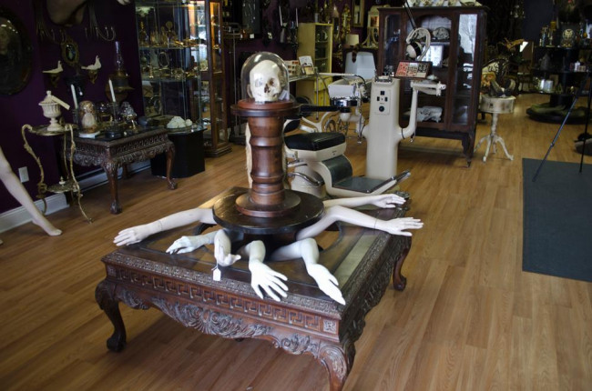 ARCHIVES: People (and their boutiques) are strange – The Strange and Unusual Oddities Parlor opens in Kingston