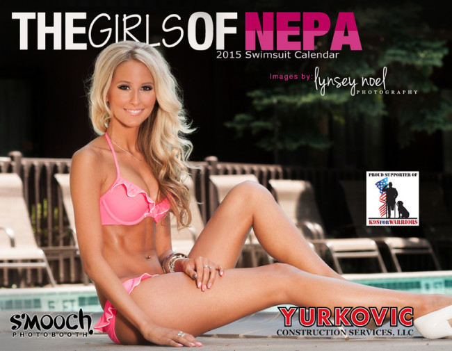Girls of NEPA release 2015 calendar at Mohegan Sun at Pocono Downs