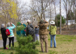 Take a guided bird walk down the Lackawanna River Heritage Trail