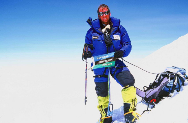 Mount Everest climber Brent Bishop to speak at Keystone College