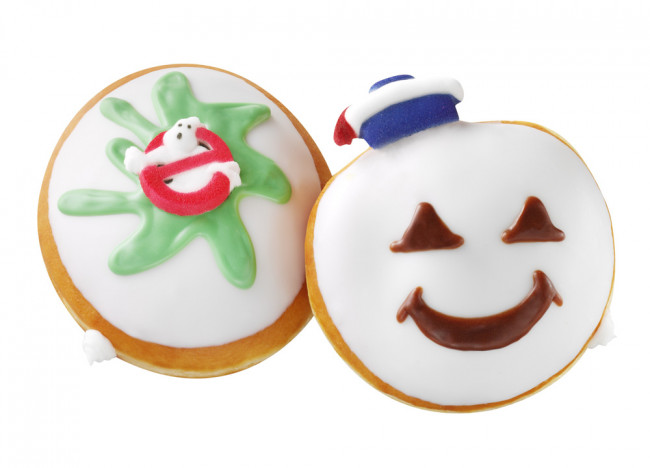 'Ghostbusters' donuts released by Krispy Kreme today