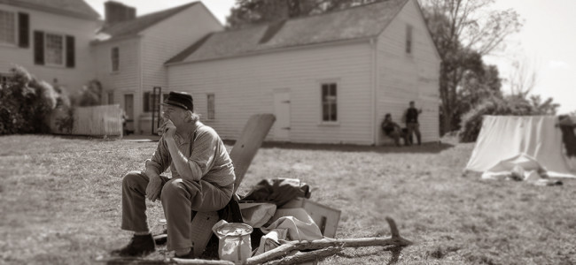 PHOTOS: Living history encampment, 143rd Pennsylvania Volunteer Infantry Regiment Co. A, 09/21/14