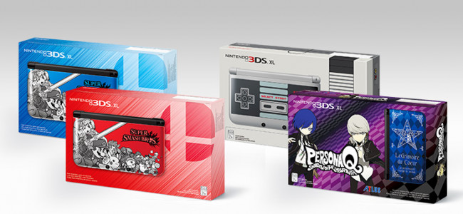 New Nintendo 3DS XL designs play on nostalgia, upcoming titles