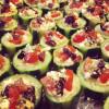 QUICK APPS & FOOTBALL SNAPS: Week 1 – Mediterranean cucumber cups