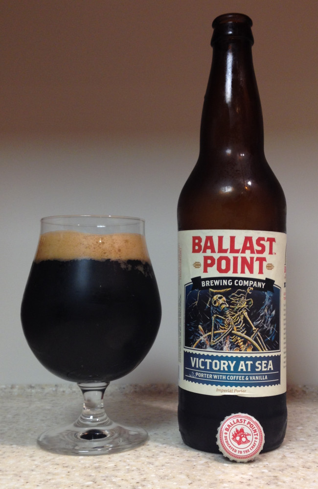 HOW TO PAIR BEER WITH EVERYTHING: Victory at Sea Coffee Vanilla Imperial Porter