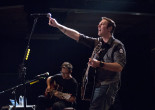Wilkes-Barre rock band Breaking Benjamin visits child fighting cancer for Christmas