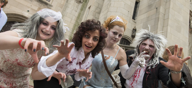 VIDEO/PHOTOS: Thrill the World in Scranton, 10/25/14
