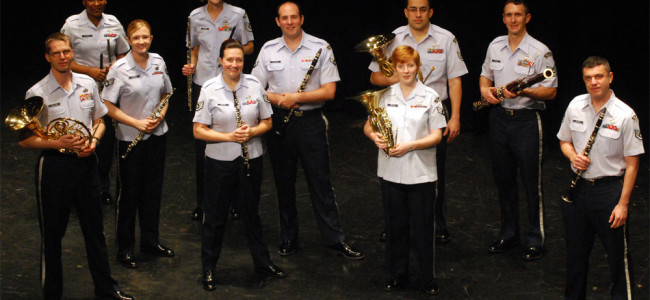 U.S. Air Force's Langley Winds return to Lackawanna College on Nov. 12