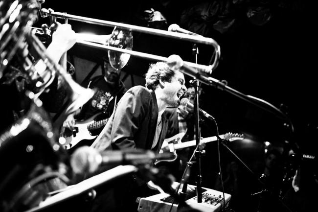 Dave Matthews Band opener Nat Osborn Band plays Hawley on Black Friday