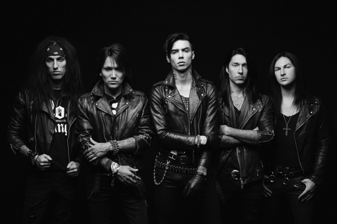Are black veil brides the future of metal or just a rock n roll controversial young metal group plays the sherman theater this friday m4hsunfo