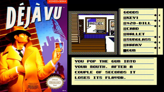 TURN TO CHANNEL 3: 'Déjà Vu' is a lost detective game NES fans should uncover