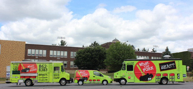 What the Fork food truck giving away free lunch or dinner at Toyota of Scranton