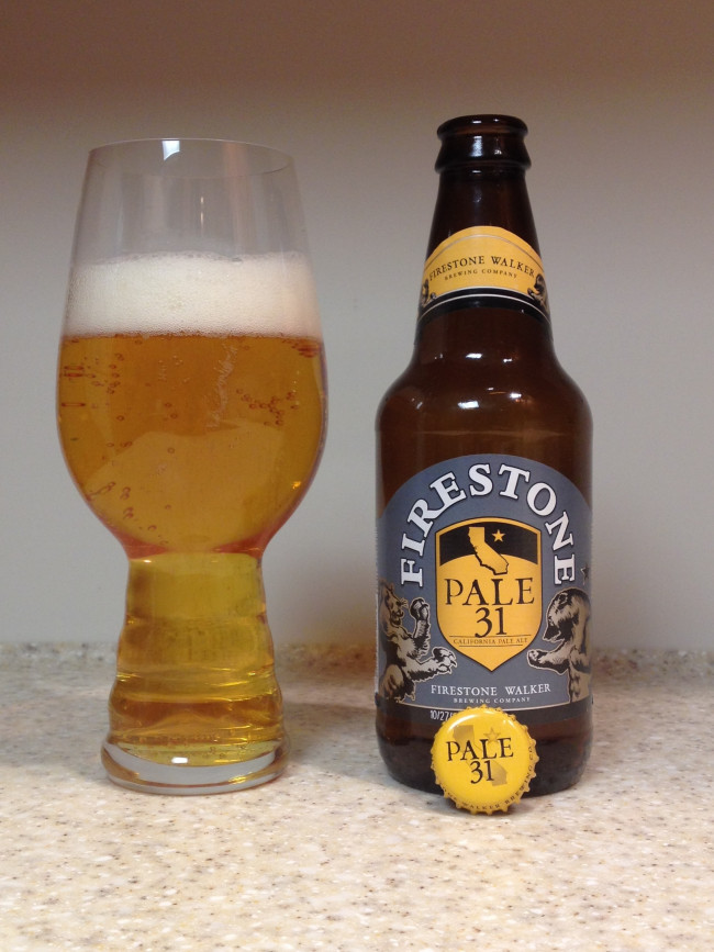 HOW TO PAIR BEER WITH EVERYTHING: Pale 31 by Firestone Walker Brewing Company