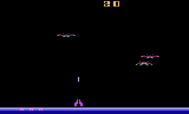 TURN TO CHANNEL 3: 'Demon Attack' is a simple, but addictive Atari 2600 shooter