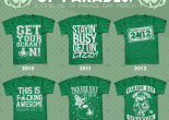 2015 Scranton Parade Day shirt features 'Sons of Anarchy' design