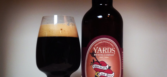 HOW TO PAIR BEER WITH EVERYTHING: Chocolate Love Stout by Yards Brewing Company