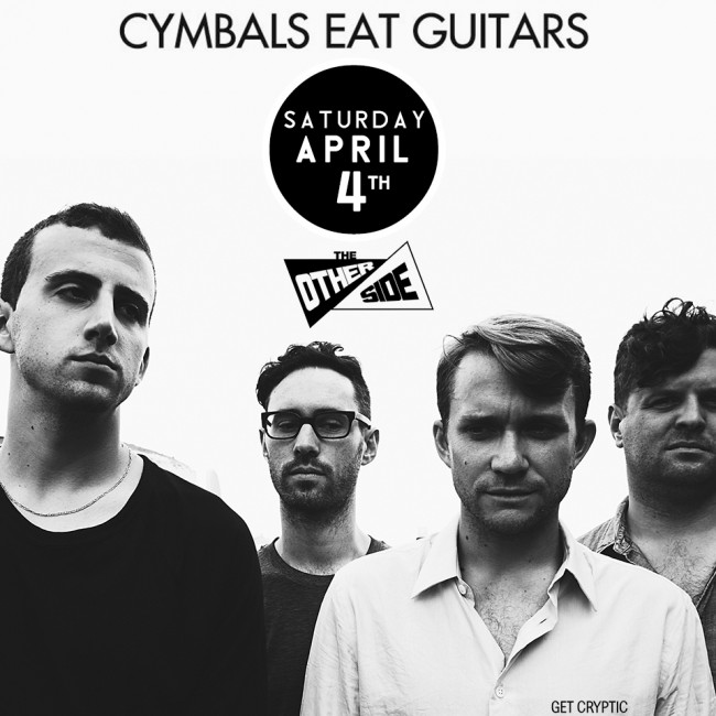 New York indie rockers Cymbals Eat Guitars to play The Other Side in Wilkes-Barre on April 4