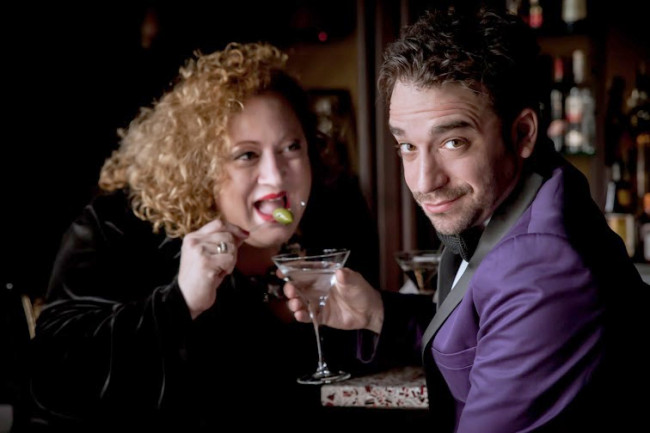 Dorothy Stone and Ori Dagan go 'GaGa for Gershwin' on Valentine's Day in Hawley