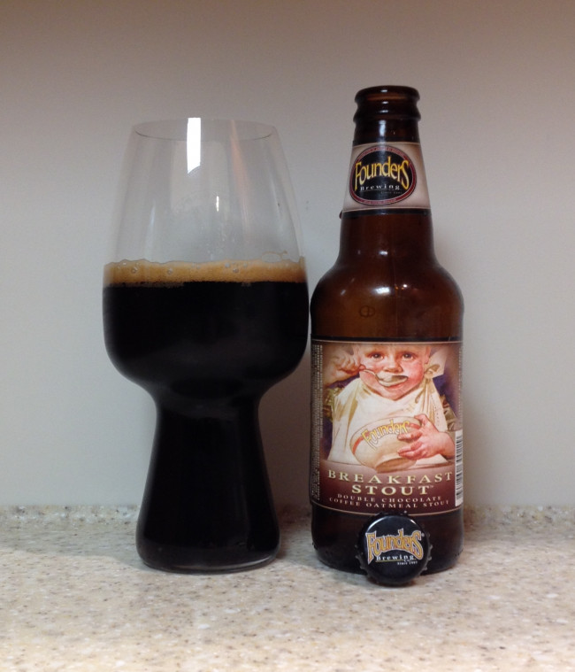HOW TO PAIR BEER WITH EVERYTHING: Founders Breakfast Stout by Founders Brewing Company