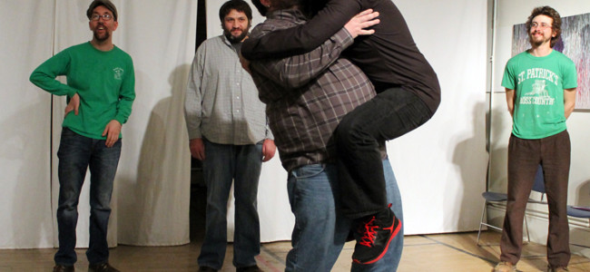 Improv comedy group Here We Are In Spain hold special performance in Scranton on March 28