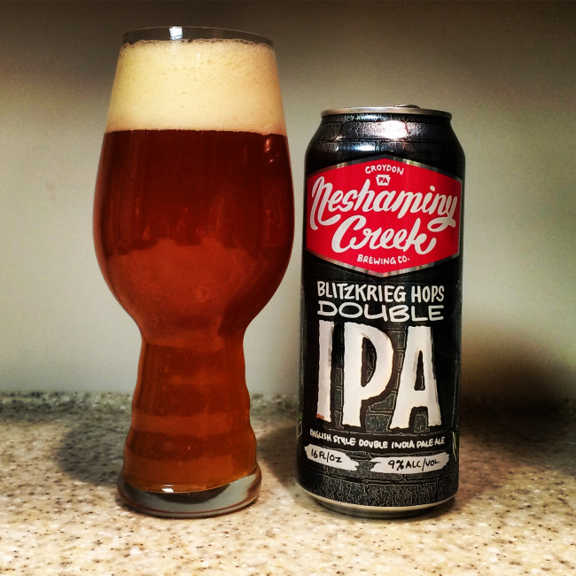 HOW TO PAIR BEER WITH EVERYTHING: Blitzkrieg Hops by Neshaminy Creek Brewing Company