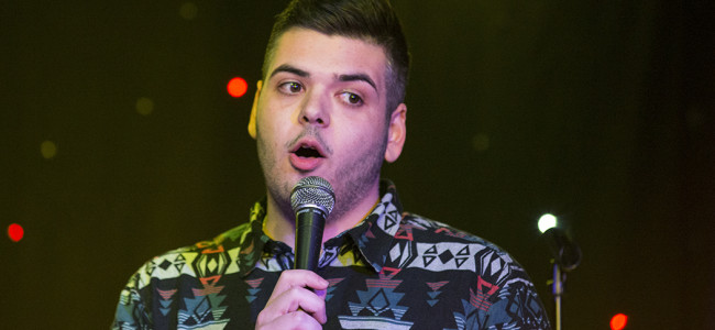 Sergio Marzitelli finds new direction – and swift success – in stand-up comedy