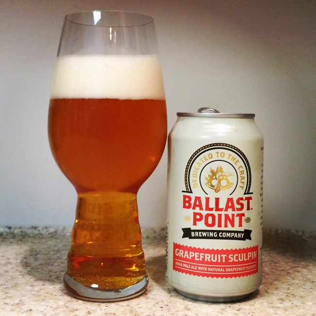 HOW TO PAIR BEER WITH EVERYTHING: Grapefruit Sculpin by Ballast Point Brewing Company