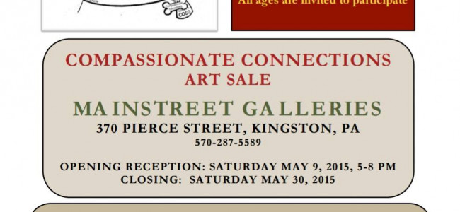 Call to artists and animal lovers to support Blue Chip Farm Animal Refuge art sale on May 9