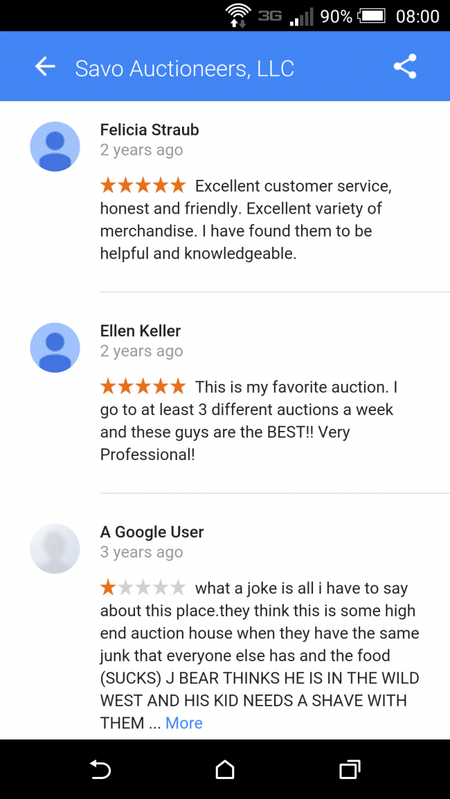 BEHIND THE BLOCK: An open response to a negative Google review