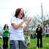 Laughter is the best medicine on World Laughter Day at McDade Park in Scranton