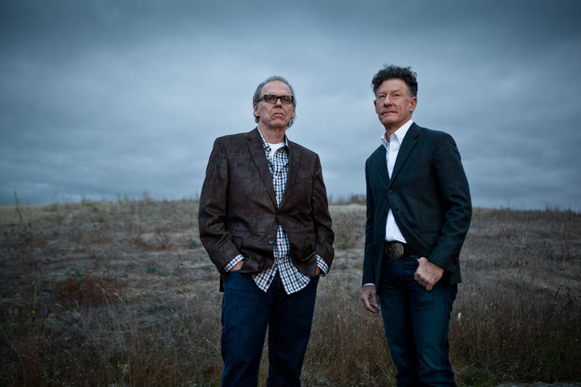 Lyle Lovett and John Hiatt play acoustic show at Sherman Theater in Stroudsburg on Nov. 10