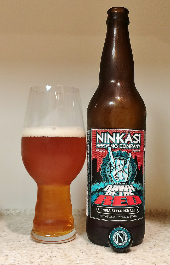 HOW TO PAIR BEER WITH EVERYTHING: Dawn of the Red by Ninkasi Brewing Company