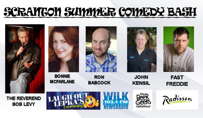 Scranton Summer Comedy Bash stacks stand-up lineup at the Radisson on June 7