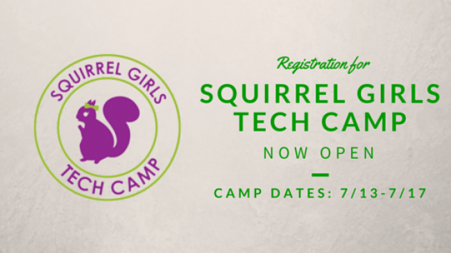 NEPA BlogCon launches Squirrel Girls Tech Camp in July for young girls interested in technology