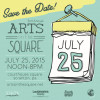 Arts on the Square festival gathers arts, crafts, music, food, games, tech, and more in downtown Scranton on July 25