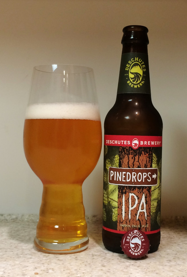 HOW TO PAIR BEER WITH EVERYTHING: Pinedrops IPA by Deschutes Brewery