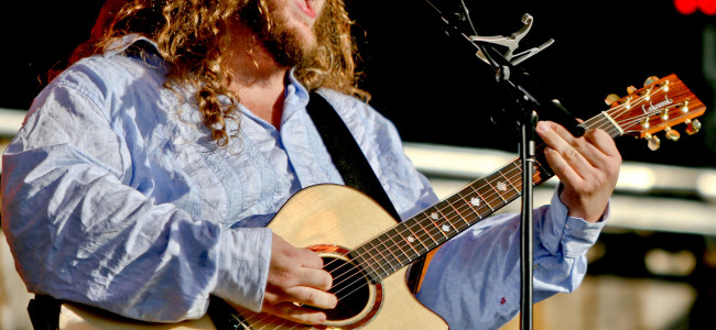 Blues powerhouse Matt Andersen performs at Kirby Center in Wilkes-Barre on Aug. 14