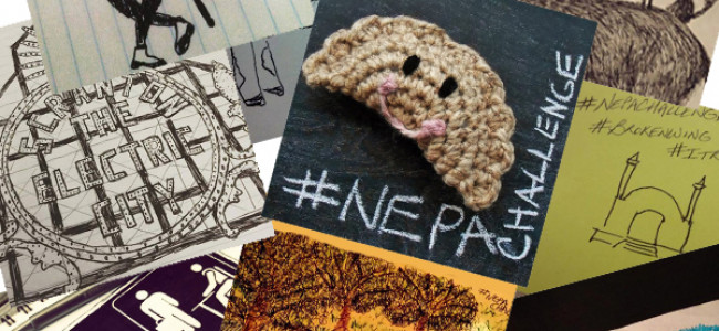 What reminds you of NEPA? Locals drew what came to mind, and the results are awesome